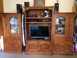 Entertainment unit - beautiful solid wood Lewisham Marrickville Area Preview