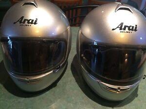 Arai helmets x 2 Arana Hills Brisbane North West Preview