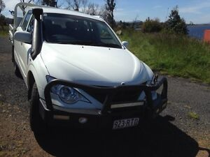 Ssangyong Actyon, Turbo diesel. 4 x 4 Boomer Bay Sorell Area Preview