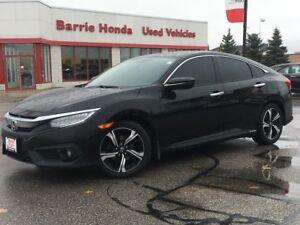 2016 Honda Civic Touring LEATHER, SUNROOF, HEATED SEATS