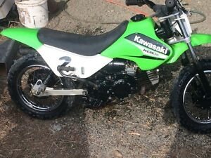 2008 Kawasaki KDX 50 Marmor Rockhampton Surrounds Preview