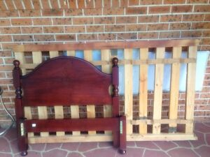 King Single Bed Frame Rosemeadow Campbelltown Area Preview