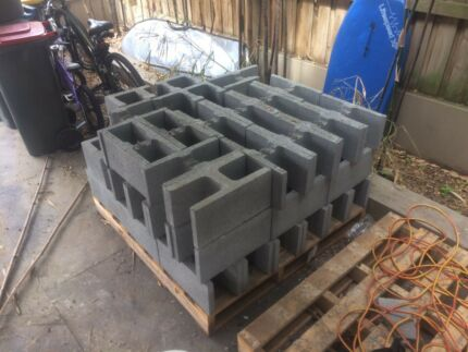 Concrete H blocks besser blocks