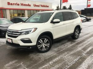 2016 Honda Pilot EX-L RES LEATHER, HEATED SEATS, SUNROOF!!!