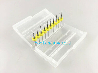 10pcs 0.7mm Solid Carbide Pcb Print Circuit Board Drill Bit Cnc Mini Drill Bits