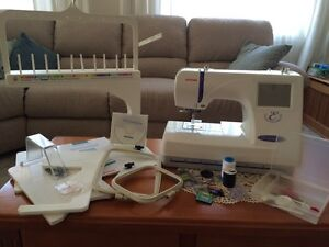 Janome 300E embroidery (only) machine Baulkham Hills The Hills District Preview