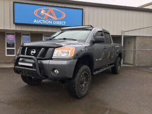 2014 Nissan Titan S LIFTED! UPGRADED EXHAUST, RIMS/TIRES!