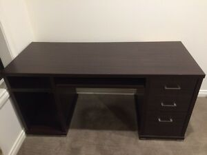 Solid robust wooden office or home desk Greenacres Port Adelaide Area Preview