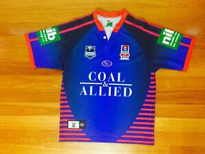 Newcastle Knights 20 Year Anniversary******2007 Rugby League Jersey Carlton Kogarah Area Preview