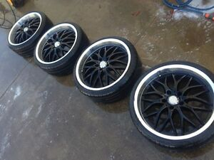 20x8.5 inch Speedy Cheetah Rims. Lonsdale Morphett Vale Area Preview