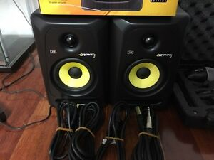 - 2 x KRK Rokit G3 Powered Studio Monitor Speakers Viewbank Banyule Area Preview