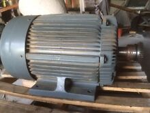 Electric motor 45/30 kW  3 phase and parallel gearbox The Oaks Wollondilly Area Preview