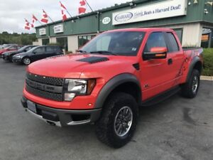 2011 Ford F-150 SVT Raptor LEATHER/4X4/BACKUPCAMERA/SUNROOF/K...