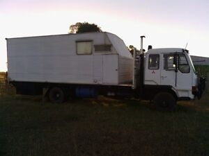 Mitsubishi FK415  5 Horse Truck. Dalby Dalby Area Preview