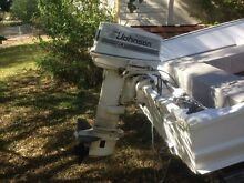 30hp Johnson outboard Holland Park Brisbane South West Preview