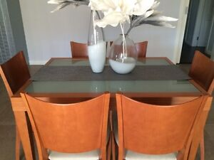 Tables and 6 chairs Burwood Heights Burwood Area Preview