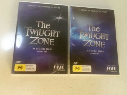 The Twilight Zone volume one and two