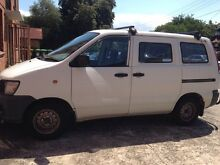 10 months rego on Toyota Town Ace b- 1998 Petersham Marrickville Area Preview