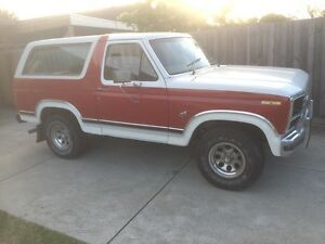 Ford bronco 1981 with rego f100 f150 f250 Carrum Downs Frankston Area Preview
