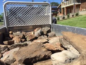 BEAUTIFUL FLAT RARE SANDSTONE AND FEATURE IRONSTONE ROCK! MUST GO Faulconbridge Blue Mountains Preview