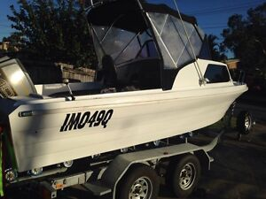 19 Foot Savage Cabin fishing boat Thornlands Redland Area Preview