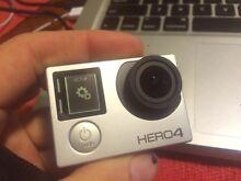 Go pro hero 4 full touchscreen full kit Gosford Gosford Area Preview