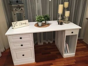 Hamptons Style Desk Butler Wanneroo Area Preview