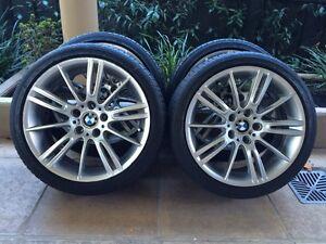 """18"""" GENUINE BMW 3-SERIES *M-SPORT* 325I E46 E90 E91 E92 E93 WHEEL Kew Boroondara Area Preview"""