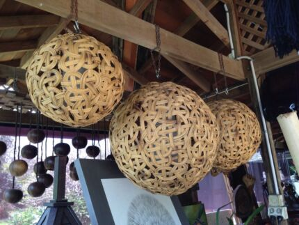 Rattan lamp shade gumtree australia free local classifieds new rattan lamp shades aloadofball Image collections
