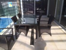Outdoor tables and  8 chairs Northbridge Willoughby Area Preview