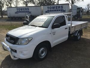 2008 Toyota Hilux workmate tray top ute Glen Innes Glen Innes Area Preview