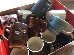 Free box of vintage mugs Aspley Brisbane North East Preview