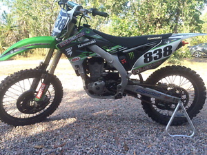 2013 kx450 Howard Springs Litchfield Area Preview