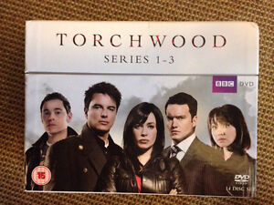Torchwood series 1-3 boxed set + miracle day (s4) Lewisham Marrickville Area Preview