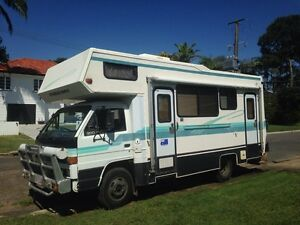 1989 Isuzu 4 Person Motor Home Wavell Heights Brisbane North East Preview