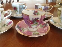 Vintage floral china tea cups Morningside Brisbane South East Preview