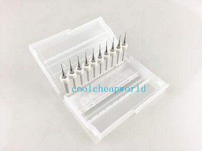 10pcs 0.4mm Solid Carbide Pcb Print Circuit Board Drill Bit Cnc Mini Drill Bits