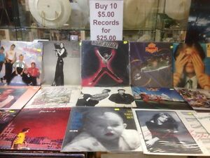Buy 10 $5 records for just $25 Greenslopes Brisbane South West Preview