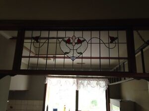 Vintage lead light panel 570 X 1340 mm Whittlesea Whittlesea Area Preview