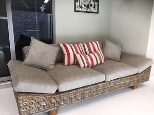 Outdoor / indoor lounge/ Casual Day bed 3 seater Helensvale Gold Coast North Preview