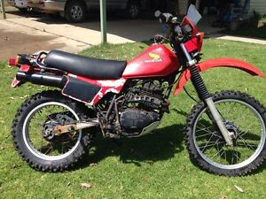 Honda XL250R Hillville Greater Taree Area Preview