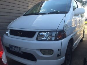 Toyota Regius 8 seater comes with 12 months rego plus RWC Sunshine North Brimbank Area Preview