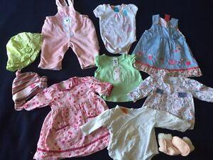 Pumpkin Patch girls size 0000 - 000 (0-3 months) bundle 10 items Hallett Cove Marion Area Preview