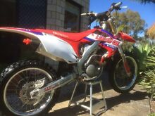 2013 CRF250R Hillcrest Logan Area Preview