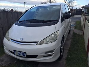 Toyota Tarago GLi Claremont Glenorchy Area Preview