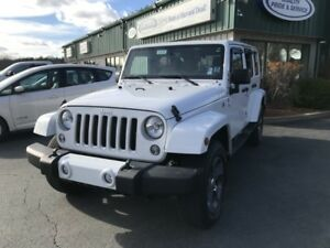 2016 Jeep Wrangler Unlimited Sahara SAHARA/FREEDOM TOP/4X4/KE...