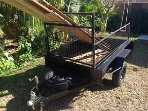 Awesome! Caged 6x4 Licensed box trailer!! Mandurah Mandurah Area Preview