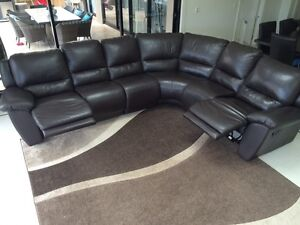 Demir leather couch 18 months old. All offers considered. Forestville Warringah Area Preview