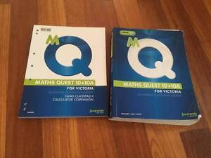 Maths Quest 10 +10A for victoria  &TI NSPIRE CAS Mount Waverley Monash Area Preview