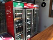 Vintage Retro Coke Fridge Rare! Glenelg South Holdfast Bay Preview
